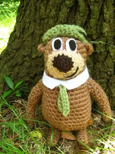 Yogi Bear - free pattern and tutorial..