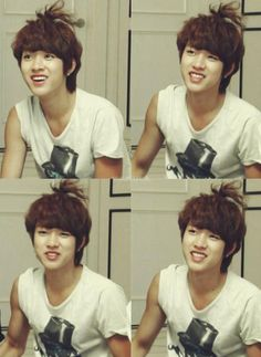I loved Seungyeol's long hair so much. So freaking cute! He should grow it out again... #INFINITE