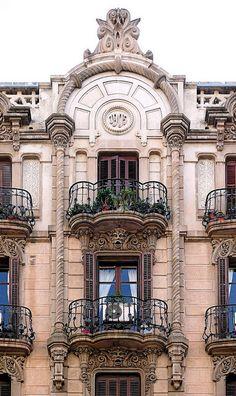 Casa Verdú - Provença. Architect: Maurici Augé i Robert. Barcelona - Provença