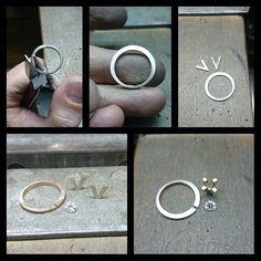 ... Jewelry Tools, Stone Jewelry, Metal Jewelry, Jewelry Crafts, Jewelry Art, Beaded Jewelry, Jewelry Rings, Jewelery, Silver Jewelry