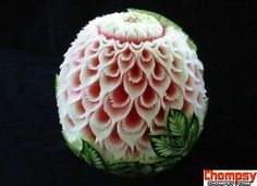Funny Pictures Awesome Watermelon Carving