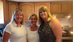 Aunt Connie, me and Dawne
