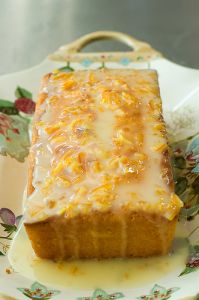 Orange Marmalade Cake. Moist and delicious.