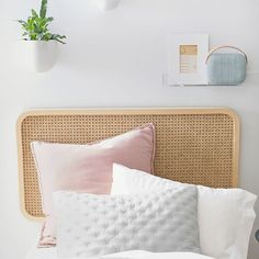 Transform your dorm into a relaxing place to lounge. Our Cane Faux Headboard is handmade of rattan for a laidback look. Designed in collaboration with West Elm. west elm x pbdorm Cane Faux Headboard Faux Headboard, Teen Headboard, Teen Bedding, Headboards For Beds, Relaxing Places, Led Shop Lights, West Elm, Wall Anchors, Beds For Sale