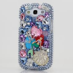 """Style # 241 This Bling case can be handcrafted for Samsung Galaxy S3, S4, Note 2, Note 3. The current price is $79.95 (Enter discount code: """"facebook102"""" for an additional 10% off during checkout)"""