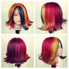 Block color done by me and more at Paul Mitchell Danbury