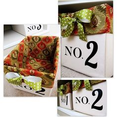 DIY'd from diaper boxes.  that's seriously cool and I must do this.  But with a different box obviously - no diapers - yay!