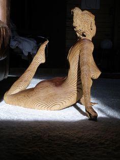 Olivier Duhamel-Josepha (2013): wood sculpture