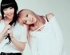 Cl and Minzy - 2ne1