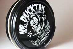 Brought to you by #hairgum MR. DUCKTAIL Pomade. #rockandroll #motherkrutter #london www.pomade.com