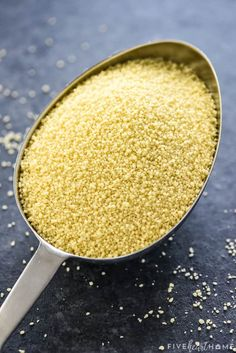 How to Cook Perfect Couscous ~ making light, flavorful, fluffy couscous is quick and easy with a few tips, tricks, and simple step-by-step instructions! | FiveHeartHome.com