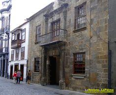 ESPACIOS EXPOSITIVOS:Casa Principal de Salazar.Calel O'Daly. Santa Cruz de La Palma