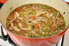 Hatch Green Chili With Pork, Colorado Style - Cooking On The Ranch Colorado Style Green Chili Recipe, Hatch Green Chili Recipe, Green Chili Pork, Hatch Chili, Chicken Chili, Shredded Pork Green Chili Recipe, Chili Colorado Recipe, Cuban Chicken, Green Chilis