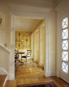 Possible Look For The Doors Leading From Dining Room Into Living Makes Door Larger
