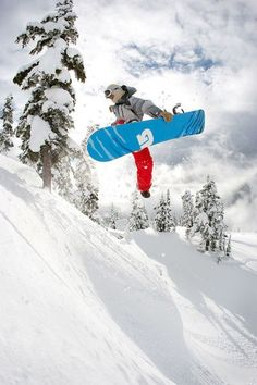 Give snowboarding a try!