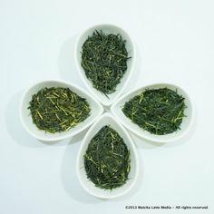 Obubu Tea's Spring Combo - 4 spring-harvested premium farm-direct teas from Kyoto, Japan. http://yunomi.us/shop/6749/obubu-spring-sencha-combo/