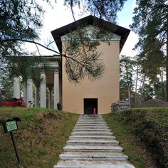 Woodland Cemetery, Stockholm, Sigurd Lewerentz and Gunnar Asplund, 1915-61. Part 2. | 页 景