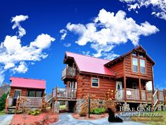 Love Without Inn Cabin with Bear Camp Cabin Rentals.