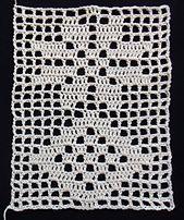 Ravelry: Banbury Antique Insertion pattern by A. (Star and Diamond) Crochet Edging Patterns, Filet Crochet Charts, Crochet Lace Edging, Crochet Blocks, Unique Crochet, Doily Patterns, Thread Crochet, Crochet Doilies, Crochet Stitches