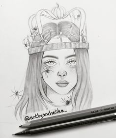 Billie Eilish, drawing, sketch, fanart Artist wallpaper diy engine design top 10 wallpapers how to wall decor Girl Drawing Sketches, Pencil Art Drawings, Realistic Drawings, Easy Drawings, Skull Drawings, Pencil Sketching, Drawing Skills, Drawing Techniques, Billie Eilish