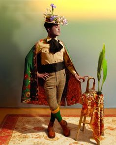 "The self-portraits and ""sartorial anarchy"" of New York based Nigeria -born artist Ike Ude"