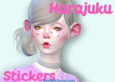 minnimii | Harajuku Stickers