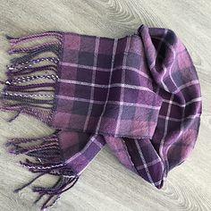Ravelry: moniquelachance's Scarf eleven plaid Plaid Scarf, Loom, Ravelry, Hand Weaving, Mad, Purple, Fashion, Moda, Hand Knitting