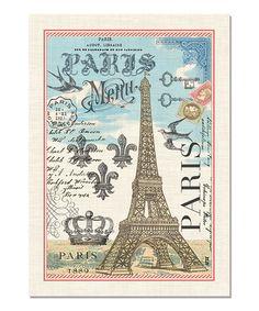 Loving this Vintage Paris Kitchen Towel - Set of Three on #zulily! #zulilyfinds