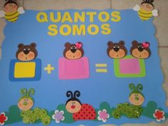 panel de asistencia-osos Foam Crafts, Baby Crafts, Toddler Crafts, Classroom Board, Classroom Decor, Mathematics Games, Daycare Design, School Images, Kids Calendar