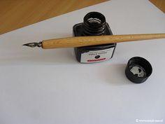 Inkt pen van vroeger - Hier heb ik nog mee leren schrijven!