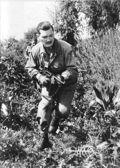 "French NCO from the ""Commando d'Afrique"". The ""Africa Commando"" was formed in 1943 in Algeria with european volunteers from the colony. The unit will fight during the battle for Elba Island, Operation Dragoon and also in France till Alsatian campaign."