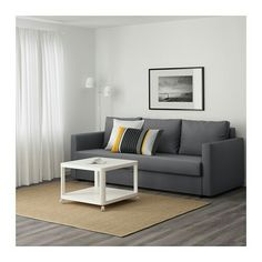 IKEA   FRIHETEN, Sleeper Sofa, Skiftebo Beige, , Easily Converts Into A Bed. Part 47