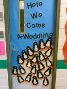 1000 Images About Penguins On Pinterest Classroom Door