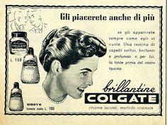 Pubblicità - Brillantina Colgate, pubblicità anni '50, agosto 1953   Flickr - Photo Sharing!
