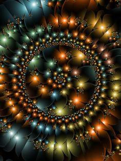 ♥♥ Cameo by ♥ (fractal art) Fractal Geometry, Sacred Geometry, Fractal Images, Fractal Art, Foto Transfer, New Media Art, Fractal Design, Geometric Art, Optical Illusions