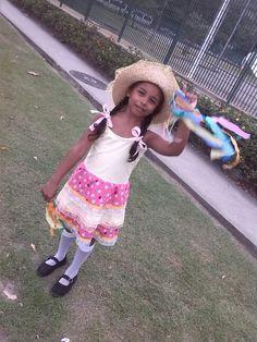 Vestido caipira tamanho 6 anos