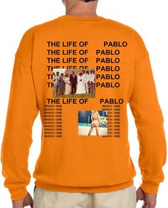Just Landed: New Kanye The Life Of Pablo Album Long Sleeve T-Shirt