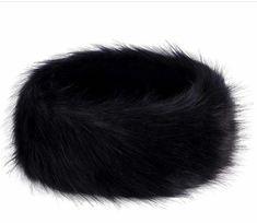 NEW WITH TAG GENUINE ANGORA RABBIT FUR HEADBAND EAR WARMER OPEN HAT WHITE