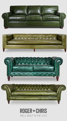 Available In A Choice Of Colours Bright And Translucent In Appearance Furniture New Chesterfield Sofa In Antique Leather Home, Furniture & Diy