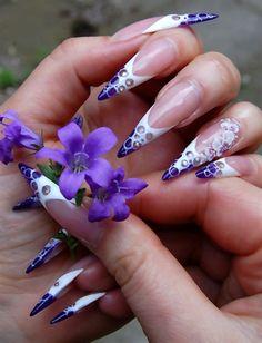 Colour Gel & 3D Acrylic nail art by MargaritaBelska - Nail Art Gallery nailartgallery.nailsmag.com by Nails Magazine www.nailsmag.com #nailart