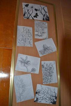 cute drawings: My highschool exposition / Expozitia mea din liceu...