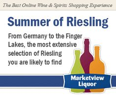 Get your Riesling fix cured by this fantastic wine retailer.  Cheers!