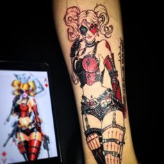 * HARLEY QUINN * Finally got a chance to put some time into this awesome Harley Quinn customized ...