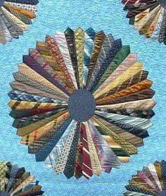 Neck tie quilt