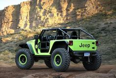 Cool Concepts Run Wild at Jeep Easter Safari, Trail Cat concept complete with hell cat engine! 707hp