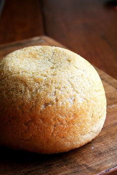 Easy bread  loaf_new by alexandracooks, via Flickr