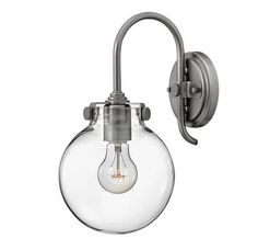 """View the Hinkley Lighting 3174 Congress 13.5"""" Height 1 Light Wall Sconce at Build.com. [$139]"""