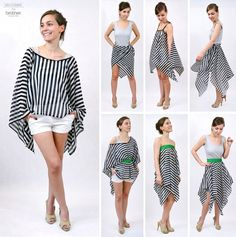 DIY: Sarong 3 in 1 http://www.pracowniajanlesniak.pl/2015/06/sarong-3-in-1-or-even-5-in-1/