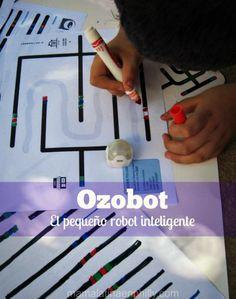 Ozobot y nuestra experiencia conociendo a este pequeño robot inteligente.