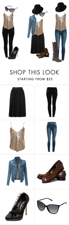 """""""10 pieces 10 accessories 10 outfits - neutral essentials outfit 10+"""" by julianne-lalonde ❤ liked on Polyvore featuring Astraet, Vila Milano, NLY Trend, LE3NO, Talbots, Lucky Brand and Helen Kaminski"""